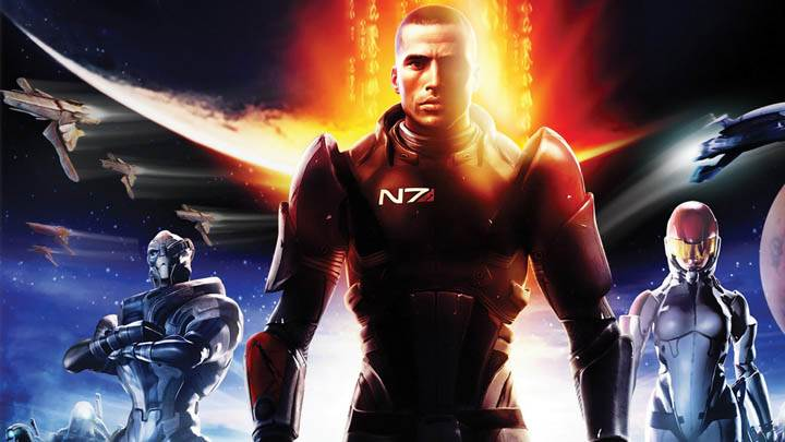 Mass Effect 2 Cover Poster