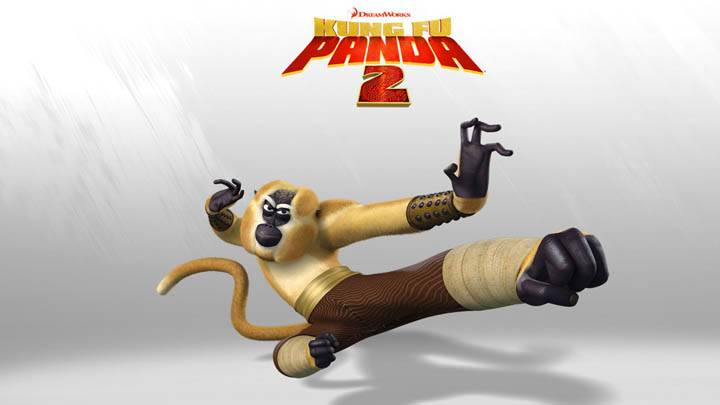 Monkey in Kung Fu Panda 2