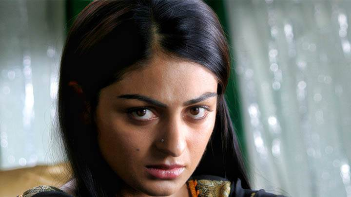 Neeru Bajwa Sitting With Sad Face