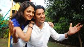 Neeru Bajwa and Harbhajan Maan