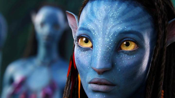 Neytiri Face Closeup