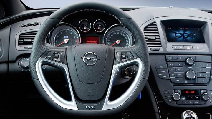 Opel Insignia Opc Unlimited Interior Picture
