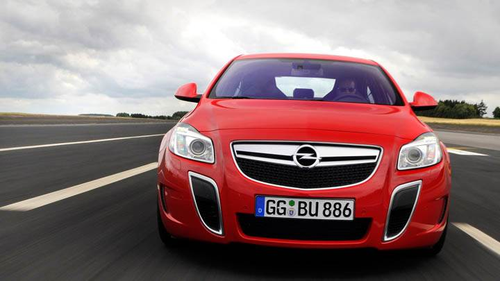 Opel Insignia Opc Unlimited Red Color
