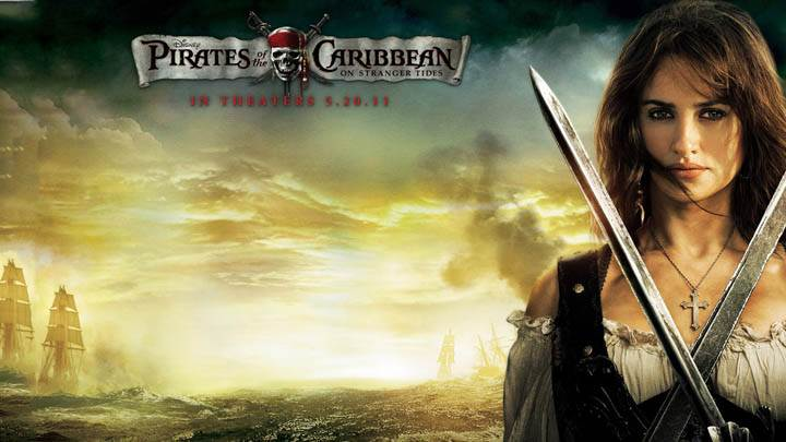 Penelope Cruz In Pirates Of The Caribbean 4