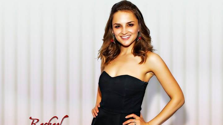 Rachael Leigh Cook Black Dress Smile