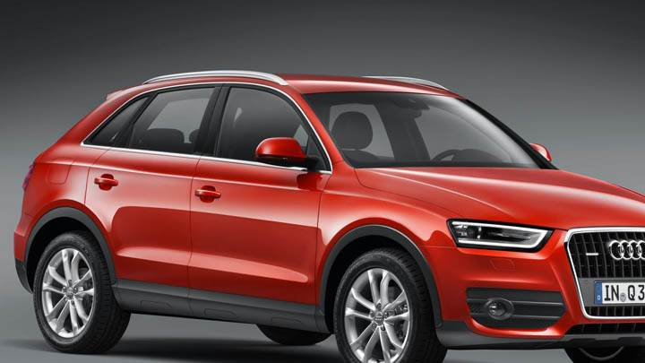 Red Color 2012 Audi Q3