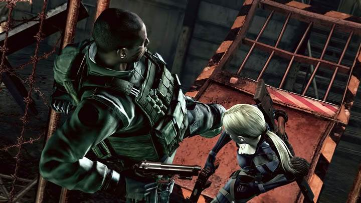 Resident Evil 5 – Breaking the Door