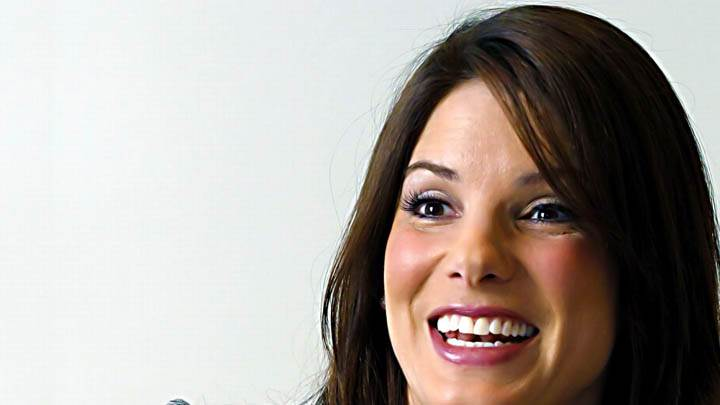 Sandra Bullock Laughing Face Closeup