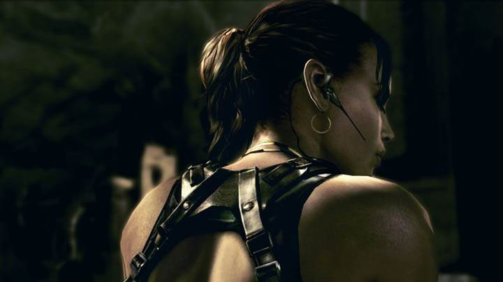 Sheva Backpose in Resident Evil 5