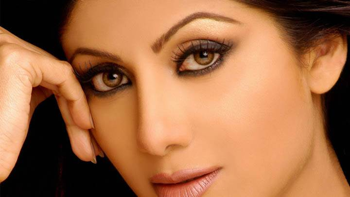 Shilpa Shetty Face Closeup