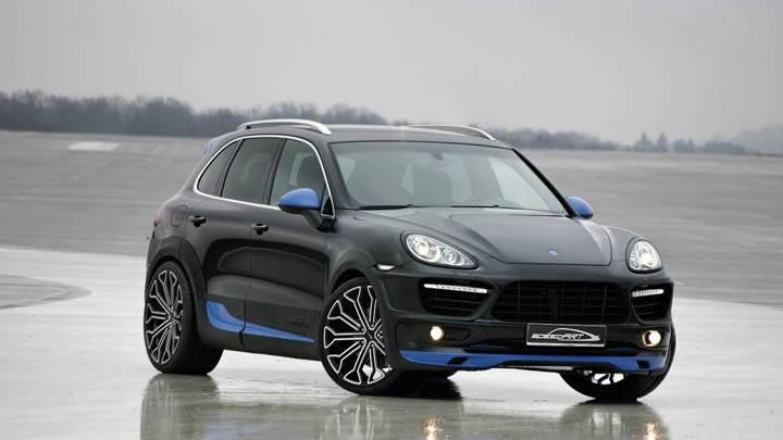 Speedart Porsche Cayenne Titan EVO-XL 600 Black Color