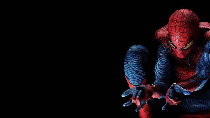 Spider Man 4 in Black Background