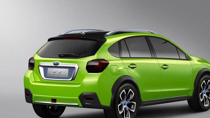 Subaru XV Concept Looking Awesome