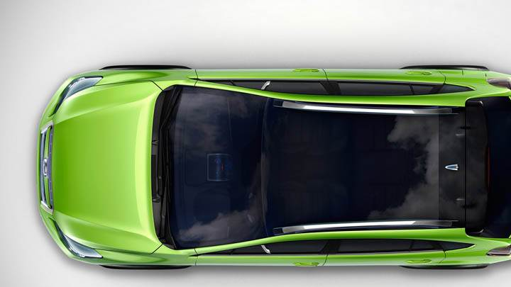 Subaru XV Concept Top View