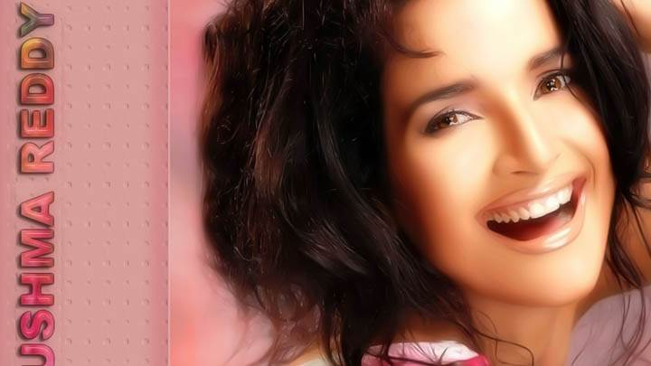 Sushma Reddy Close Face Wallpaper