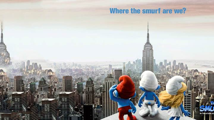 The Smurfs Movie 2011 Poster