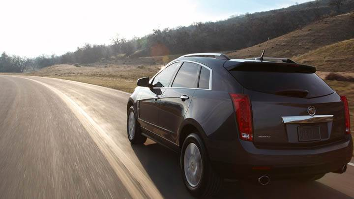 2011 Cadillac SRX Black Color