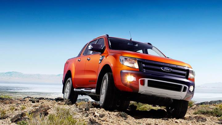 2011 Ford Ranger Wildtrak Front Picture