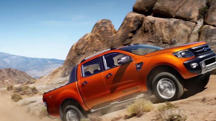 2011 Ford Ranger Wildtrak Orange Color