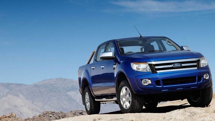 2011 Ford Ranger Wildtrak on Mountain