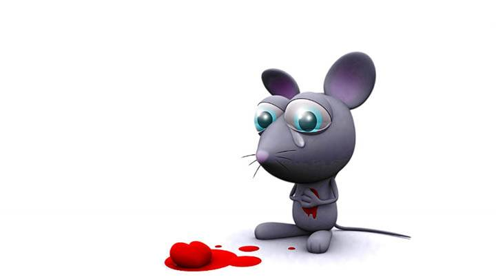 A 3D Crying Rat