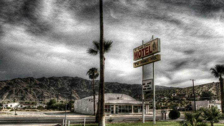A Motel At Highway