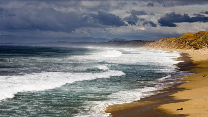 After a Storm, Seaside, California