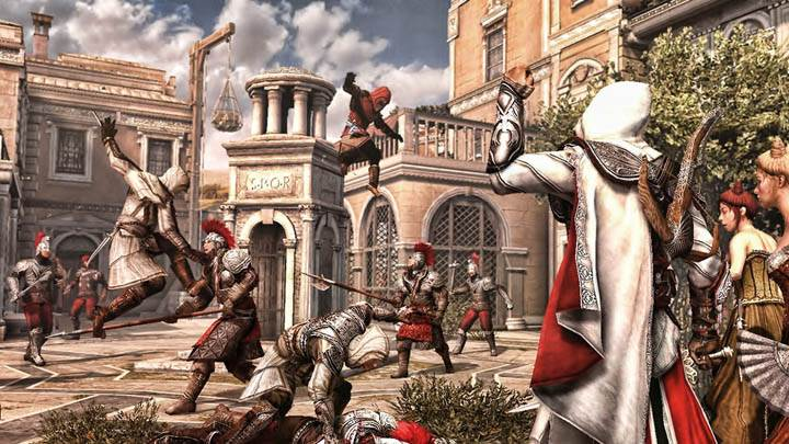 Assassins Creed Brotherhood Attacking