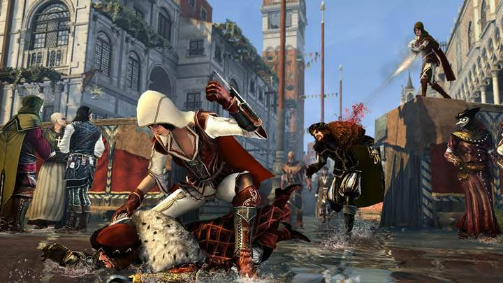 Assassins Creed Brotherhood Killing On Ground