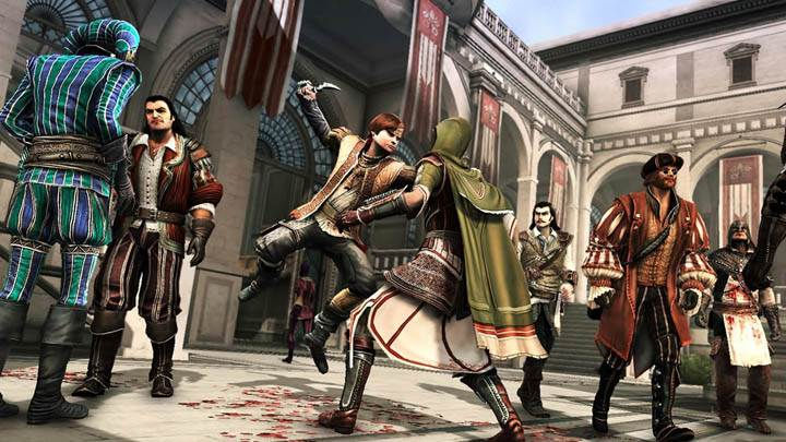 Assassins Creed Brotherhood Killing With Knife