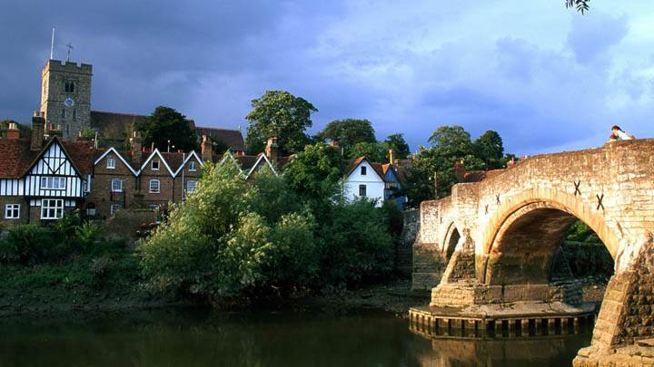 Aylesford, Kent, South England, Great Britain
