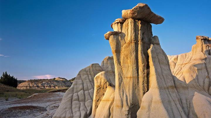 Badlands Formations, Theodore Roosevelt National Park, North Dakota