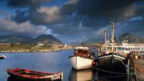 Ballynakill Harbor, Connemara, County Galway, Ireland