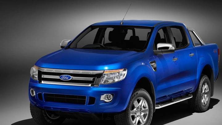 Blue Color Ford Ranger Wildtrak