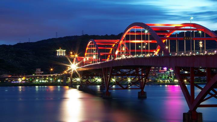 Bridge With Lights