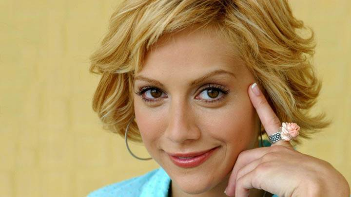 Brittany Murphy Red Lips & Smiling