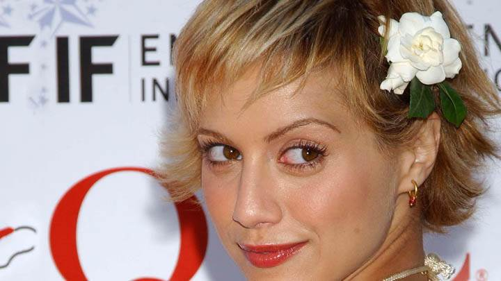 Brittany Murphy Smiling Red Lips Pic