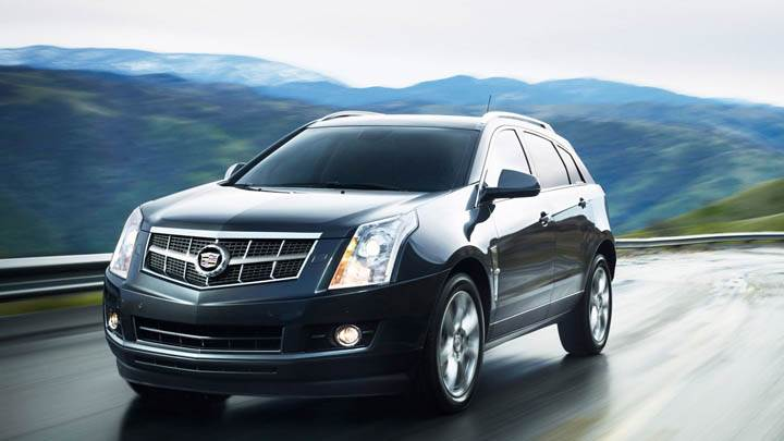 2011 Cadillac SRX Side View