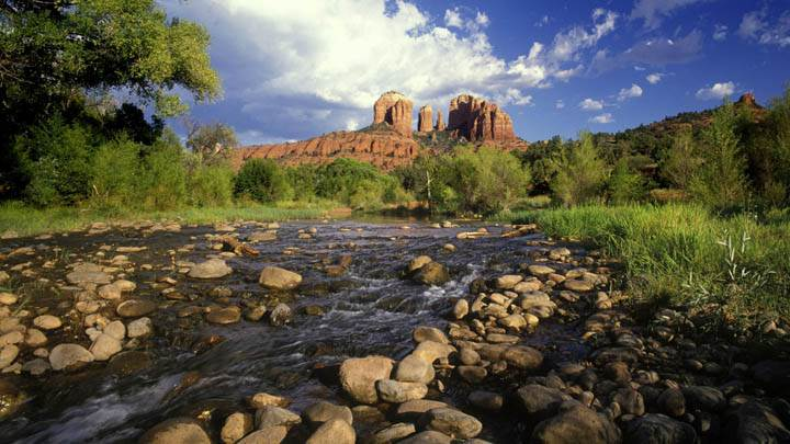Cathedral Rock and Red Rock Crossing, Sedona, Arizona