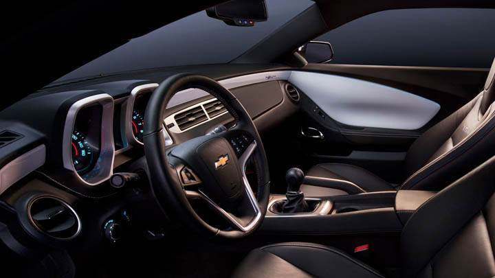 Chevrolet Camaro 45th Anniversary Special Edition Interior