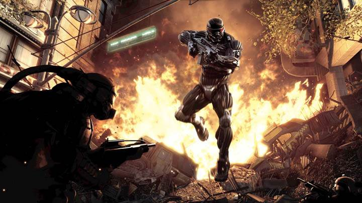 Crysis 2 Burning City