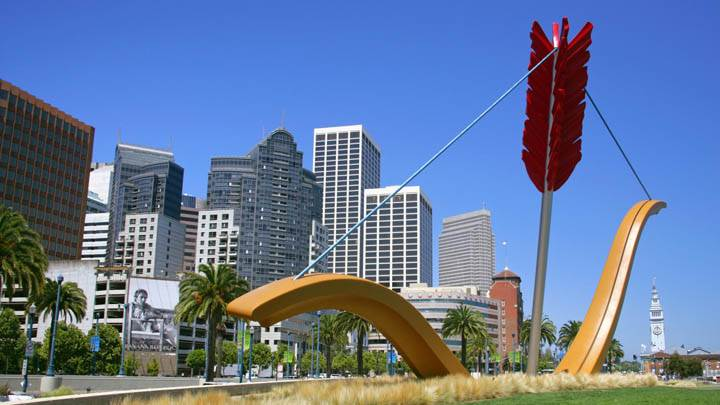 Cupid's Span, Rincon Park, Along the Embarcadero, San Francisco, California