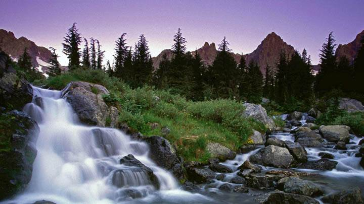 Ediza Creek Falls, Ansel Adams Wilderness, California