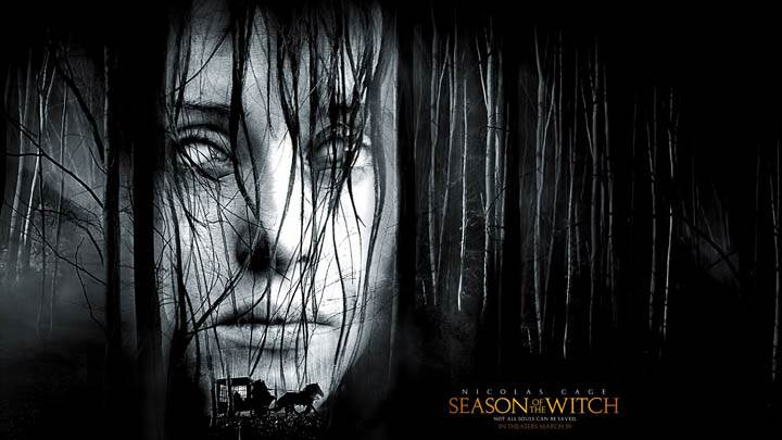 Face Closeup of Witch in Season of the Witch