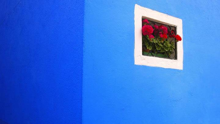 Flower Box, Burano, Italy
