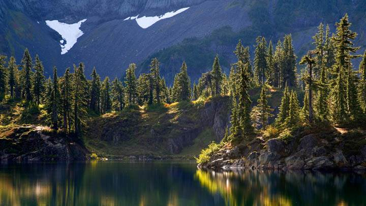 Hayes Lake, Mount Baker Wilderness, Washington