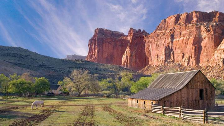 Historic Fruita, Capitol Reef National Park, Utah