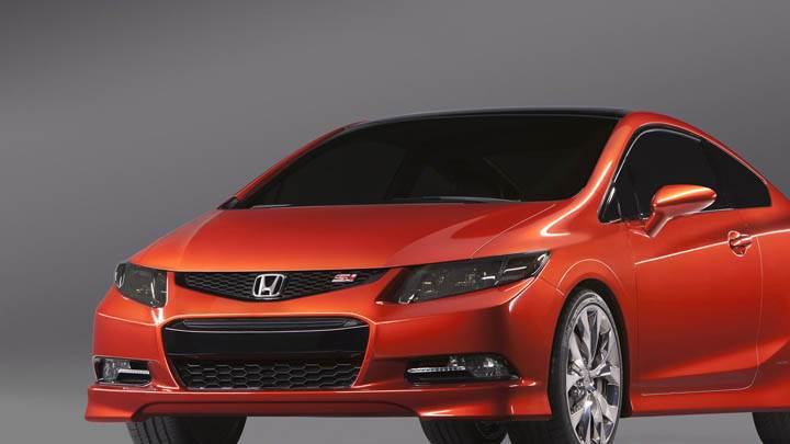 Honda Civic SI Red Color