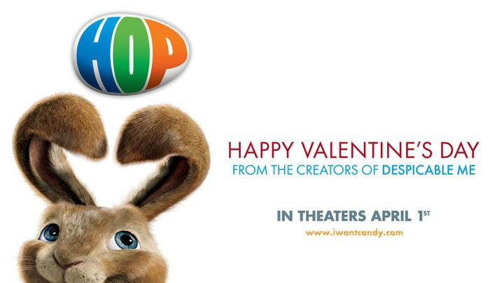 Hop – Happy Valentines Day