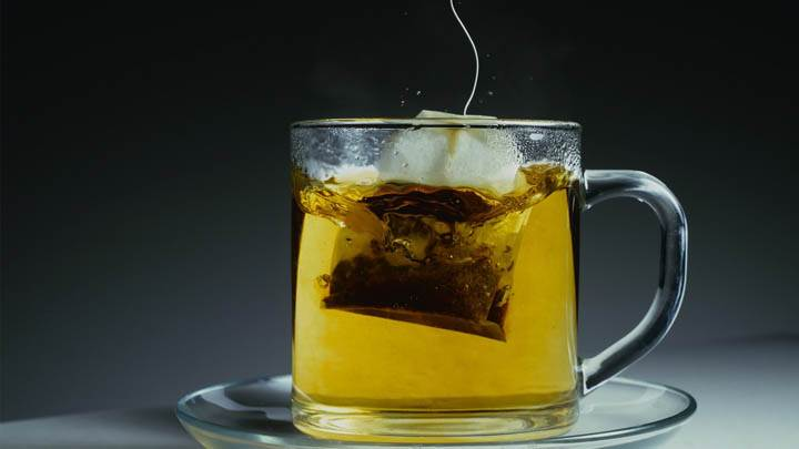 Ice Tea in Transparent Glass